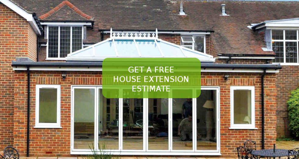House extensions brighton approved house extension builders for Garage extension cost estimate
